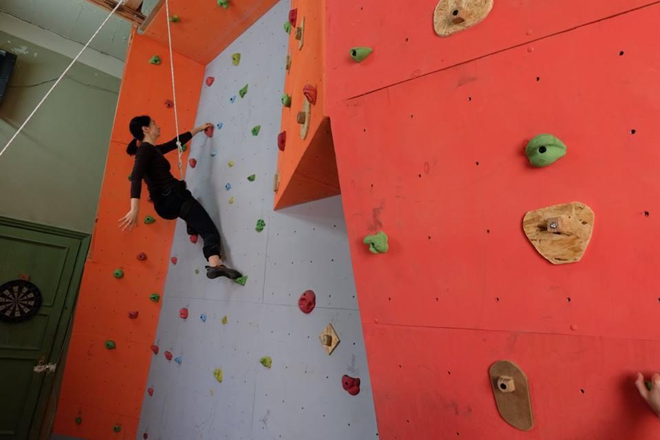 В Запорожье открылся новый скалодром|В дороге - сайт о путешествиях и приключениях